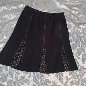 Ann Taylor Pleated Mini Skirt